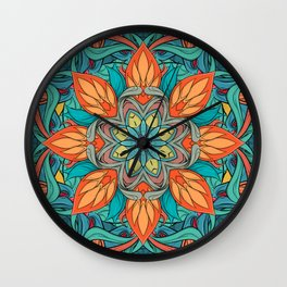 Agni Wall Clock