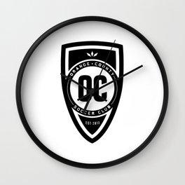 Soccer Club Wall Clock