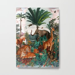 Beautiful Forest II Metal Print