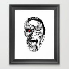 The all new Terminators. The psychopath Framed Art Print
