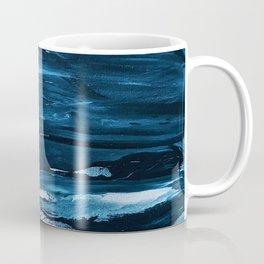 Blue Brush Strokes (Color) Coffee Mug