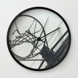 Basketball Hoop Wall Clock