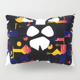 Abstract African Lion Pillow Sham