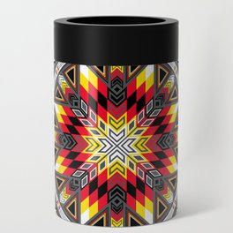 Sacred Places Red Can Cooler