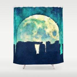 Stonehenge Shower Curtain