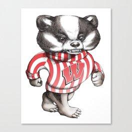 Bucky Don't Care Canvas Print