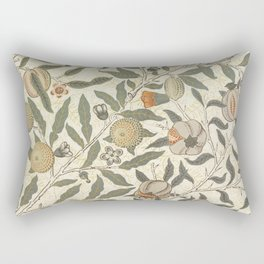 William Morris Fruit Pattern Rectangular Pillow
