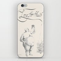 health iPhone & iPod Skins featuring Long for health by Ans04