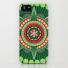 Mayahuel Mandala iPhone Case
