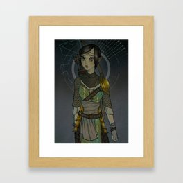 Warden Mahariel Framed Art Print