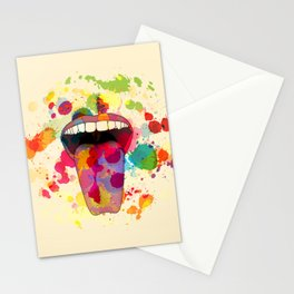 Color Tasting Stationery Cards