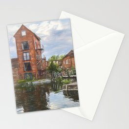 Canalside Living In Newbury Stationery Cards
