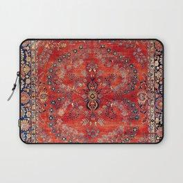 Sarouk Arak West Persian Carpet Print Laptop Sleeve