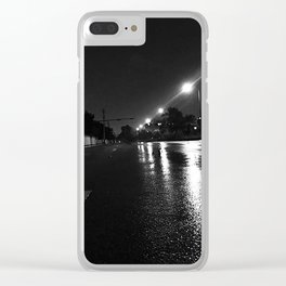 The Night Before Irma Clear iPhone Case