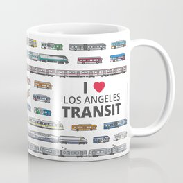 The Transit of Greater Los Angeles Coffee Mug