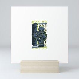 Robo Boxing Mini Art Print