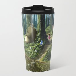 Totoro and Mei Travel Mug