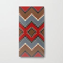 American Native Pattern No. 473 Metal Print