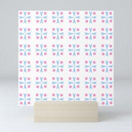 symmetric patterns 102 Mini Art Print