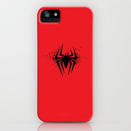 Square Heroes - Spider iPhone Case
