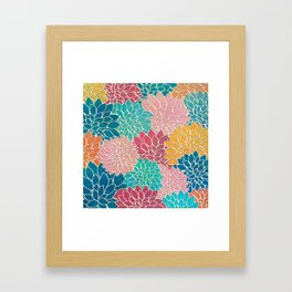 Floral Abstract 35 Framed Art Print