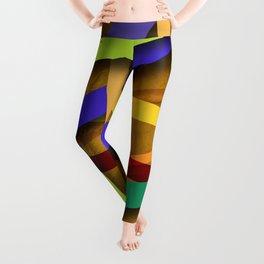 Abstract #356 Leggings
