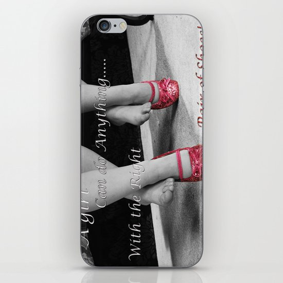 The right Shoes iPhone Skin