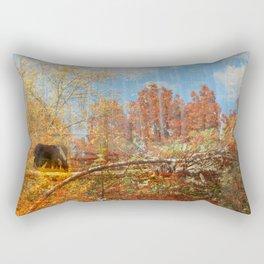 Autumn wonderland (II) Rectangular Pillow