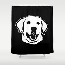 LABRADOR DOG Shower Curtain