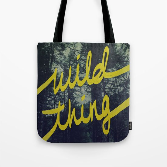 Wild Thing Tote Bag