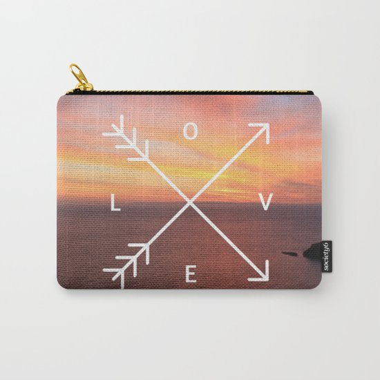 Sunset Love Valentine's Day (Valentine Gift) Carry-All Pouch