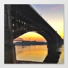Eads Bridge Canvas Print