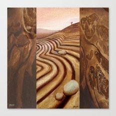 Ploughscape Canvas Print