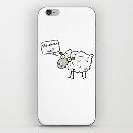 Shear Me iPhone Skin