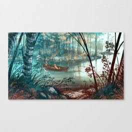 Strait - Salmi Canvas Print
