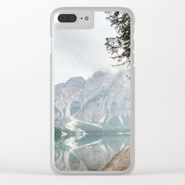 Follow Me Home Clear iPhone Case