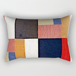 Sophie Taeuber Arp Vertical Horizontal Composition II Rectangular Pillow