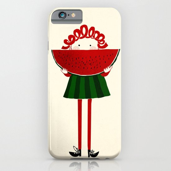 Melone girl iPhone & iPod Case