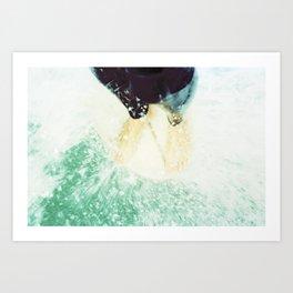 toes Art Print