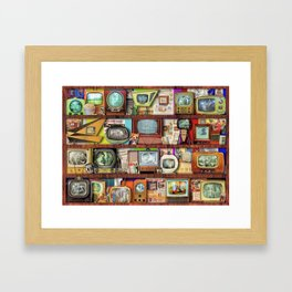 The Golden Age of Television Framed Art Print