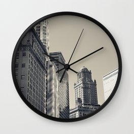 Chicago IV Wall Clock