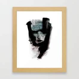 CAPTURE / 01 Framed Art Print
