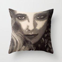 Supernatural: Claire Novak Throw Pillow