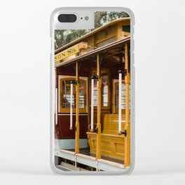 San Francisco Cable Car Clear iPhone Case