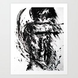 I surrender Art Print