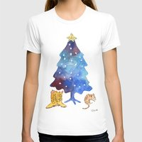 texas T-shirts featuring Texas Christmas by Elena Sandovici