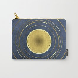 Gold Circle Carry-All Pouch