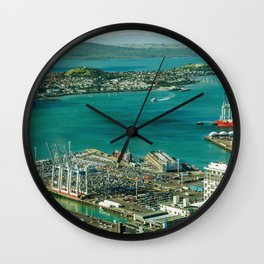 city view new Wall Clock