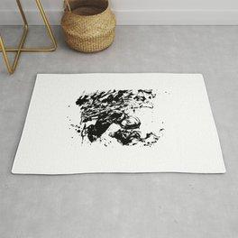 Todoroki Shoto Ink Splatter Rug