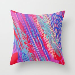 WEATHERING DOWN Throw Pillow